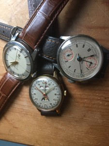 A good selection of vintage watches will be sold